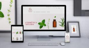 Deseño Prestashop Aromatic Garden