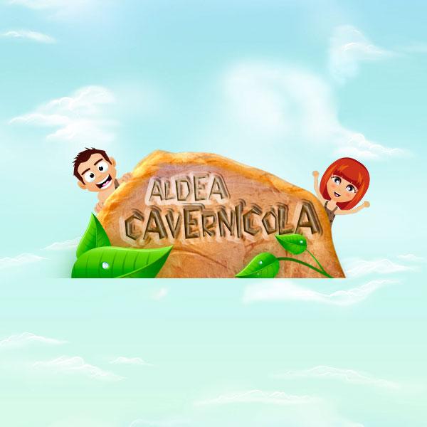 Deseño web Aldea Cavernícola Despedidas