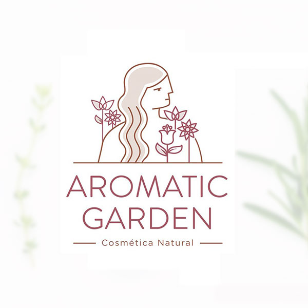 Deseño web ARomatic Garden
