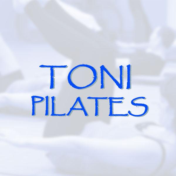 Cartelería Toni Pilates