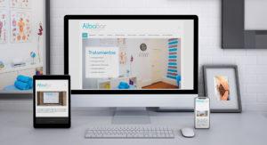 Deseño web Alba Bar Fisioterapia