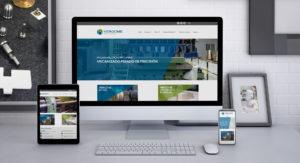 Deseño web Hergome