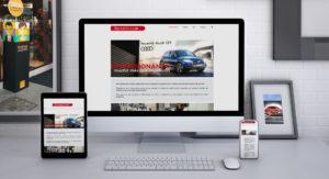deseño web impresionanta