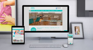 Deseño web Punto & Aparte Vigo