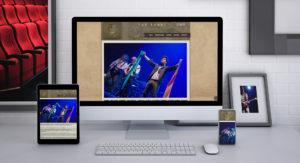 Deseño web The Rebel Opera Rock